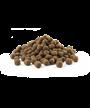 Granule snadno stravitelné receptury kuře s rýží se sníženým obsahem tuku.
