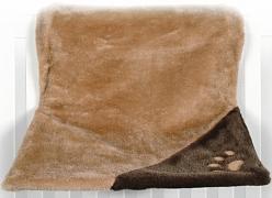 Závěsné lůžko na topení DE LUXE hnědobéžové