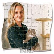 Ochranná síť pro kočky  2 x 1,5 m