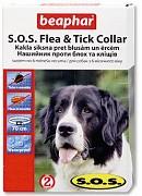 Obojek antiparazitní SOS Flea & Tick 70 cm