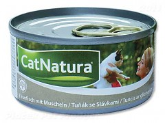 Konzerva Cat Natura tuň. + slávky 85 g