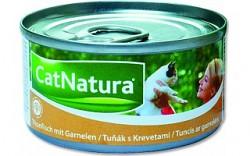 Konzerva Cat Natura tuň. + krevety 85 g