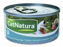 Konzerva Cat Natura tuň. + okoun 85 g