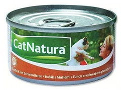 Konzerva Cat Natura tuň. + mušle 85 g