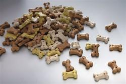 Sušenky pro štěňata mix 2,2 cm/0,5kg