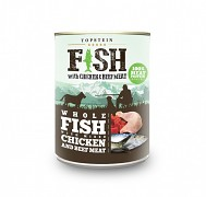 Topstein Fish with chicken & beef 800g