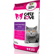 Cat's Love Castrated 1,5 kg