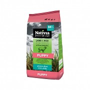 Nativia Dog Puppy Lamb&Rice