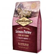 Carnilove Cat Salmon & Turkey Kittens HG
